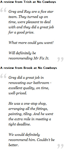 More building services No Cowboy reviews